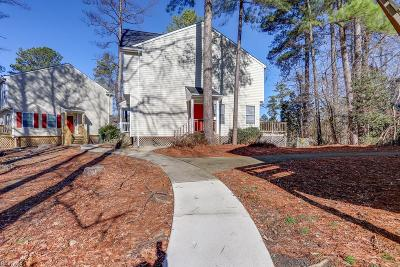 Newport News Single Family Home Under Contract: 38 Williamson Park Dr #A