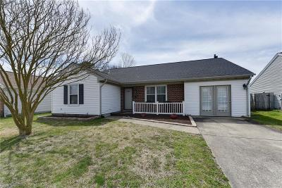 Virginia Beach Single Family Home New Listing: 1713 Pathfinder Dr