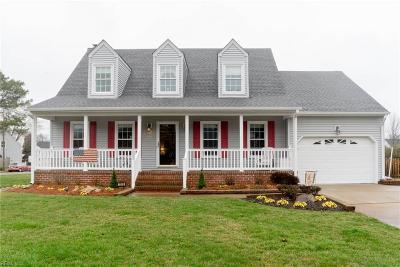 Chesapeake Single Family Home New Listing: 1169 Priscilla Ln