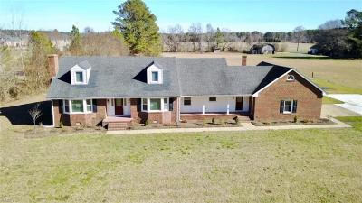 Chesapeake Single Family Home New Listing: 2613 Johnstown Rd