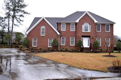 Chesapeake Single Family Home New Listing: 845 Waterfall Way