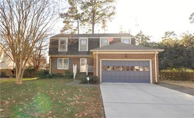 Virginia Beach Single Family Home New Listing: 5593 E Worcester Dr