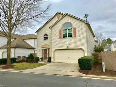 Chesapeake Single Family Home New Listing: 1510 Tallwood Cir