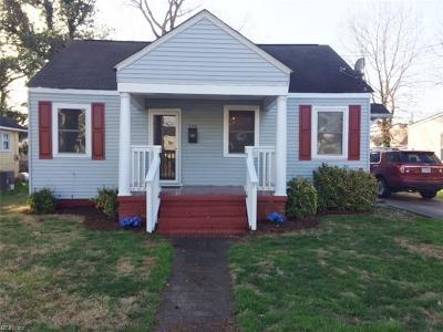 Portsmouth Single Family Home New Listing: 2400 Charleston Ave