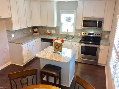 Chesapeake Single Family Home New Listing: 801 Waters Rd