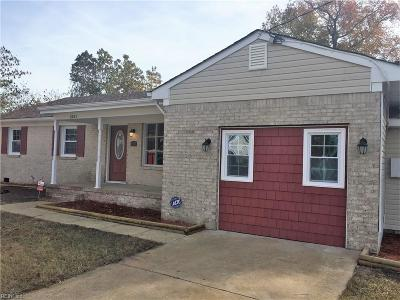 Chesapeake Single Family Home New Listing: 1321 Deep Creek Blvd