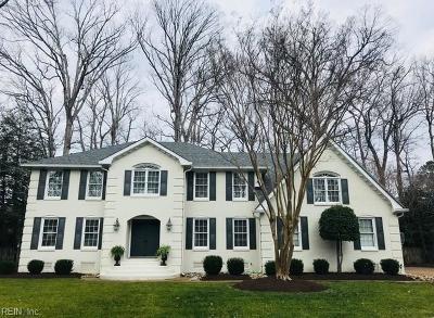 Virginia Beach Single Family Home New Listing: 3212 High Borough