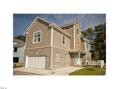 Virginia Beach Single Family Home New Listing: 5412 Carbon Ct