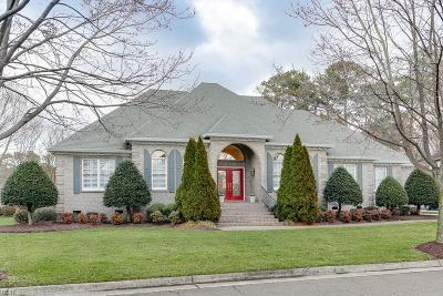 Virginia Beach Single Family Home New Listing: 2201 Souverain Ln