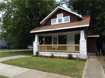 Norfolk Single Family Home New Listing: 826 43rd St