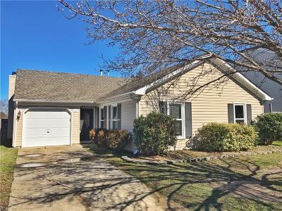 Virginia Beach Single Family Home New Listing: 3216 Winterberry Ln