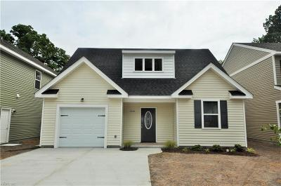 Chesapeake Single Family Home Under Contract: 2109 English Ave
