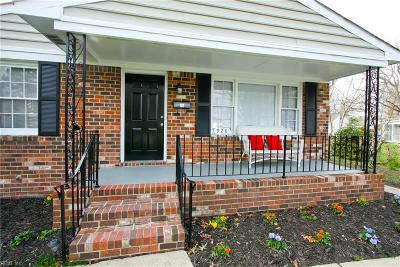 Portsmouth Single Family Home New Listing: 928 Florida Ave