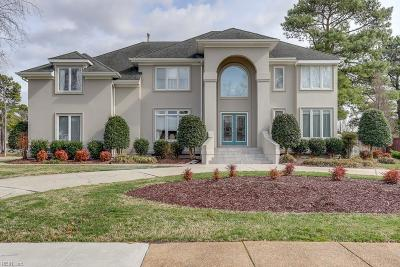 Chesapeake Single Family Home Under Contract: 1233 Masters Row