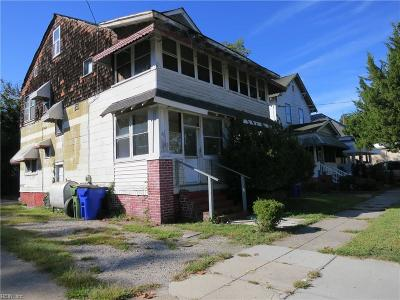 Norfolk Single Family Home New Listing: 735 36th St W