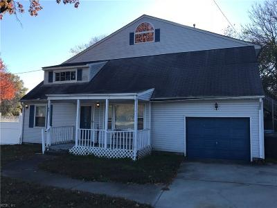 Virginia Beach Single Family Home New Listing: 6601 Indian River Rd