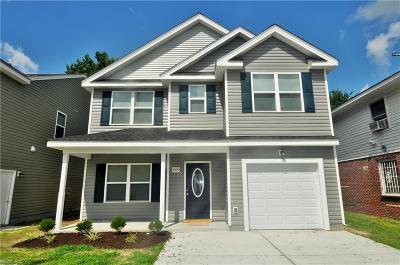 Chesapeake Single Family Home New Listing: 2000 Engle Ave