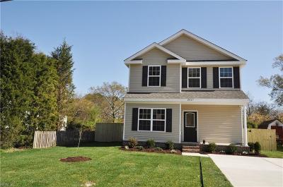Chesapeake Single Family Home New Listing: Mm Hickory N