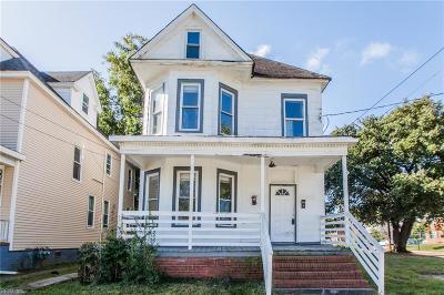 Norfolk Single Family Home New Listing: 245 W 31st St