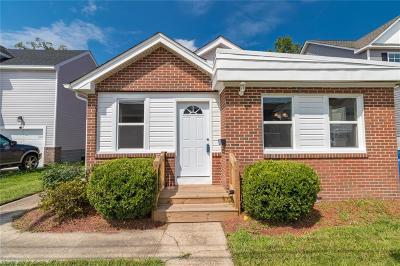 Chesapeake Single Family Home New Listing: 206 Gregg St