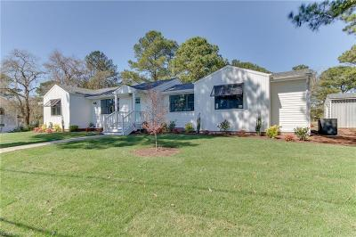 Virginia Beach Single Family Home New Listing: 2608 Broad Bay Rd