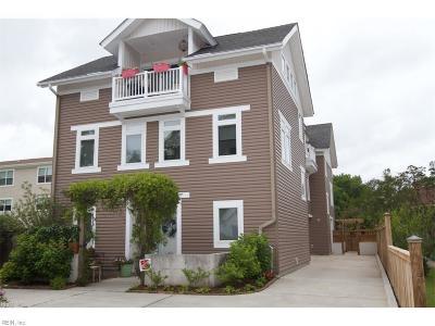 Virginia Beach Single Family Home New Listing: 623 14th St #A
