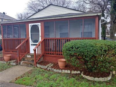 Norfolk Single Family Home New Listing: 1007 Avenue G