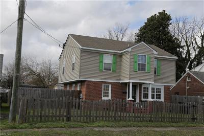 Portsmouth Single Family Home New Listing: 2702 Magnolia St
