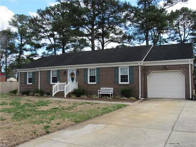 Chesapeake Single Family Home New Listing: 1421 Avon Rd