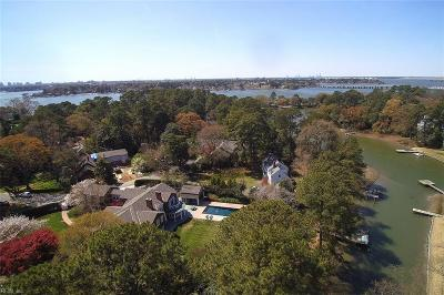 Norfolk Single Family Home Under Contract: 7307 Heron Ln