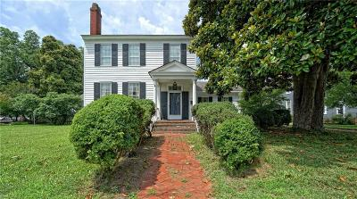 Suffolk Single Family Home For Sale: 431 N Main St