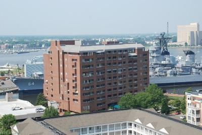 Norfolk Single Family Home Under Contract: 215 Brooke Ave #801