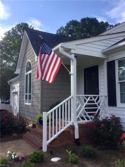 Portsmouth Single Family Home Under Contract: 4804 Peace Way