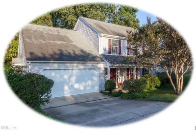 Williamsburg Single Family Home For Sale: 4021 Driftwood Way