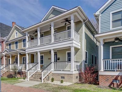 Portsmouth Single Family Home For Sale: 719 Washington St