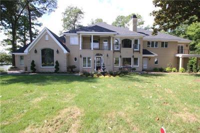 Virginia Beach VA Single Family Home New Listing: $1,953,900