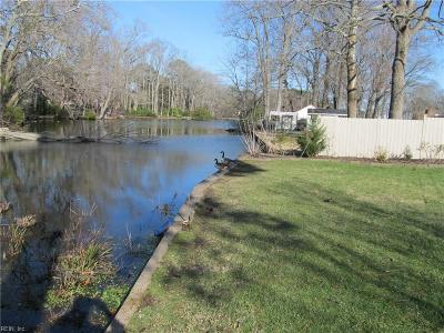 Norfolk Single Family Home Under Contract: 7644 Nancy Dr