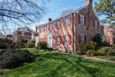 Norfolk Single Family Home For Sale: 1331 Armistead Bridge Rd