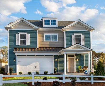 Virginia Beach Single Family Home For Sale: Mm Halstead Benson Model St