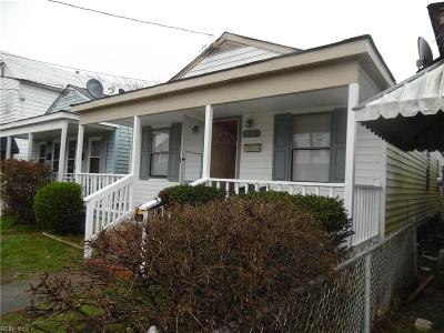 Newport News VA Single Family Home New Listing: $53,000