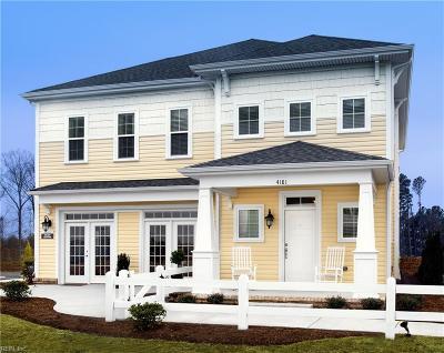 Virginia Beach Single Family Home For Sale: Mm Halstead Oxford Model St