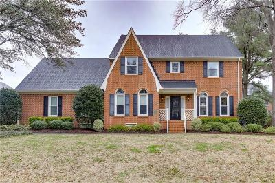 Norfolk Single Family Home Under Contract: 1352 Cornwall Pl