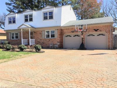 Virginia Beach VA Single Family Home New Listing: $274,950