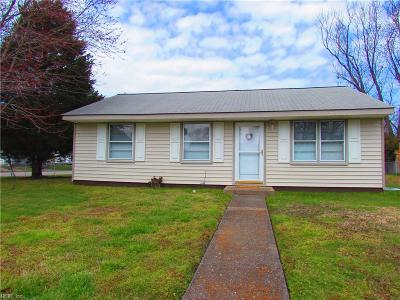 Newport News VA Single Family Home New Listing: $99,900