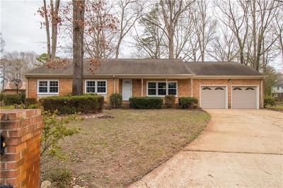 Virginia Beach VA Single Family Home New Listing: $259,900