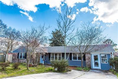 Virginia Beach VA Single Family Home New Listing: $265,000