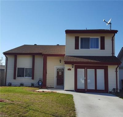 Virginia Beach VA Single Family Home New Listing: $214,000
