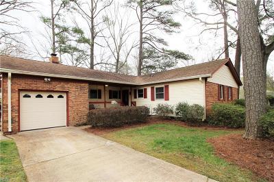 Virginia Beach VA Single Family Home New Listing: $309,900