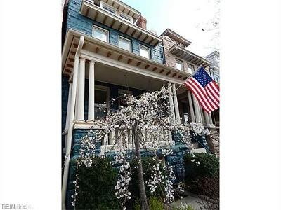 Norfolk Single Family Home For Sale: 410 Fairfax Ave