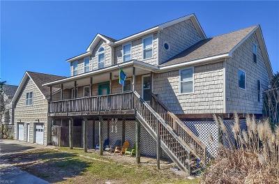 Sandbridge Beach Single Family Home For Sale: 2221 Sandpiper Rd